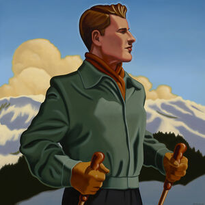R. Kenton Nelson, 'Alfred Remembered', 2018