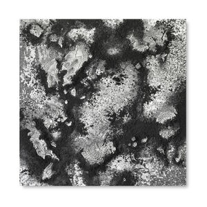 Yasmina Alaoui, 'Black and Grey Square #1', 2017