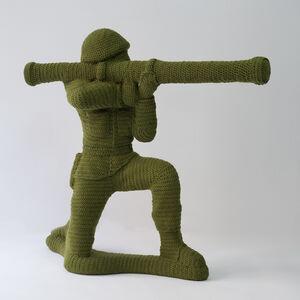 Nathan Vincent, 'Green Army Man', 2015