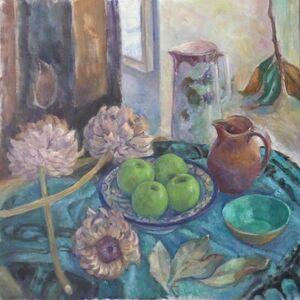 Helene Halstuch, 'Green Apples'