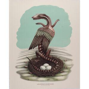 Beauvais Lyons, 'Ornithological Quadrupeds: Amazonian Lizard Snake', 2013