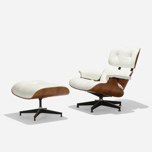 Charles and Ray Eames, '670 armchair and 671 ottoman', 1956/1979