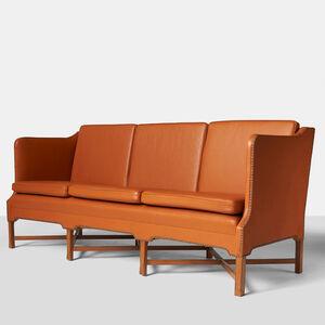 Kaare Klint, 'Kaare Klint Sofa Model #4118 by Rud Rasmussen', 1990-1995