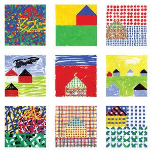 Jennifer Losch Bartlett, 'House II Portfolio', 2015