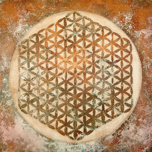Natalia Schäfer, 'Flower of Life - Copper', 2019