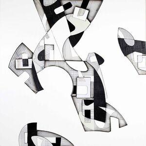 Kevin Keul, 'Black and White Landscape #1', 2015