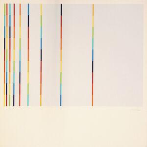 Richard Paul Lohse, '12 Vertical and Horizontal Progressions ', 1943-44/1985
