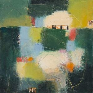 Carolyn Cole, 'Dark Green 101717'