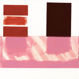 Diane Fine, 'Red Number 14', 2015