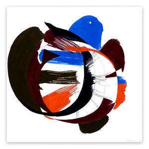 Ellen Priest, 'Jazz Cubano #53: Percussion Drawing (Abstract painting)', 2012