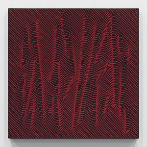 Julian Stanczak, 'Woods, Warm Red Lights', 2009