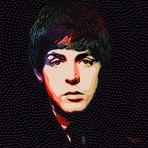 Angee Ferrin, 'Paul McCartney', 2020