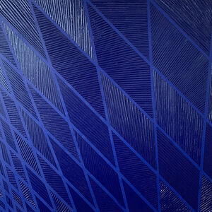 Carole Jury, 'Tower Series Monochrome Blue #1', 2019