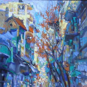 Duong Viet Nam, 'Ha Ba Trung Street', 2011