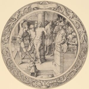Lucas van Leyden, 'The Flagellation', 1509