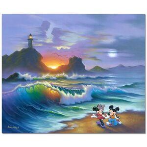 Jim Warren, 'Mickey Proposes to Minnie', 1990-2020