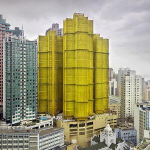 Peter Steinhauer, 'Yellow Cocoon #1, Hong Kong – 2010', 2010