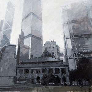 James Hart Dyke, 'Old Supreme Court Building and The China Club, Hong Kong', 2014