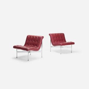 William Katavolos, 'New York lounge chairs, pair', 1952
