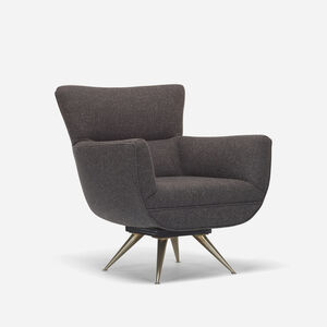 Henry Glass, 'Forecast lounge chair', c. 1955