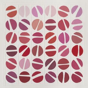 Jane Lincoln, 'Grid: Red', 2020