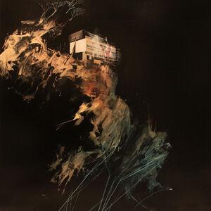 Ian Francis, 'Le Corbusier´s dream falls apart as the cliff beneath collapses', 2012