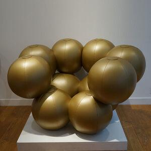 Bernard Quentin, 'FAUTEUIL MOLÉCUL'AIR GOLD', 1966