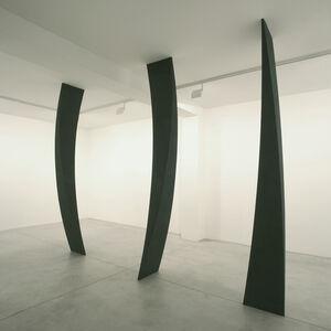 Mauro Staccioli, 'Plinti schiacciati', 2006