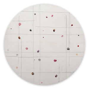 Harald Kröner, 'Tondo 7 (Abstract painting)', 2020