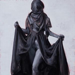 David Palumbo, 'Figure in Black Drapery #1', 2017
