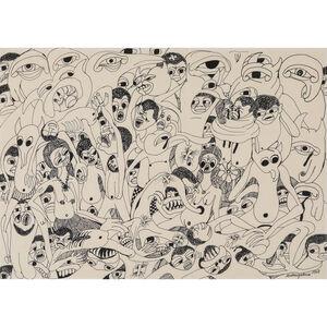 Malangatana Ngwenya, 'Untitled', 1968