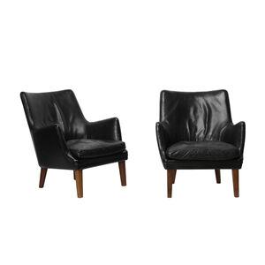 Arne Vodder, 'Pair of easy chairs', 1953