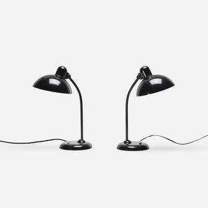 Christian Dell, 'Ideal lamps model 6556, pair', c. 1930