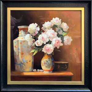 Jacqueline Fowler, 'Peony Roses II', ca. 2020