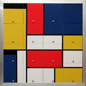 Nelson Leirner, 'Homenagem a Mondrian III', 2010