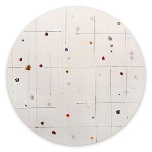 Harald Kröner, 'Tondo 10 (Abstract painting)', 2020