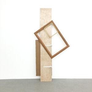 Leyden Rodriguez-Casanova, 'A Shelf Supporting Two Frames', 2017