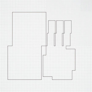 Attila Kovács, 'koordination p13-a21', 1975