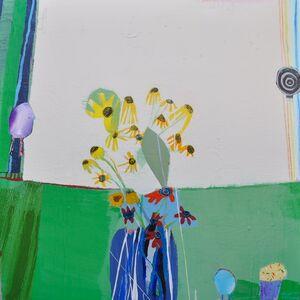 Wendeline S. Matson, 'Yellow Flowers', 2019