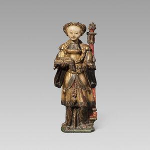 Unknown, 'Saint Barbara', ca. 1500