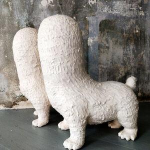 Kenjiro Kitade, 'Sculpture; Faceless Guardian Dogs', 2015