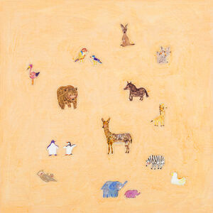 LO Chiao-Ling, 'Animal Stickers', 2015