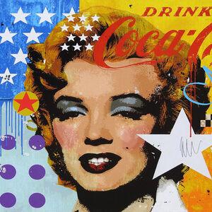 """Mark Andrew Allen, '""""Marilyn Coca - Cola""""', 2017"""