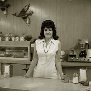Steve Fitch, 'Truckstop Waitress, Highway 66, Gallup, New Mexico ', 1972