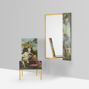 Constantin Boym, 'Unique Venus and Mars Chair and Mirror', 2006