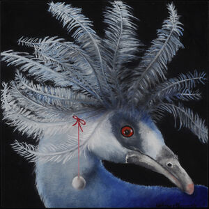 Adrienne Sherman, 'The Pearl (Western Crowned Pigeon, New Guinea) ', 2020
