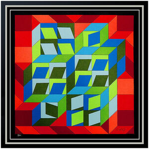 Victor Vasarely, 'Kinetic Composition ', 20th Century