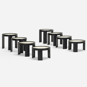 Gianfranco Frattini, '780 nesting tables, set of two', 1966