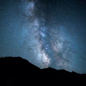 LUCA MARZIALE, 'Milkyway, Yosemite 2017'