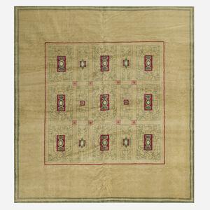 Paule Leleu, 'pile carpet', c. 1940